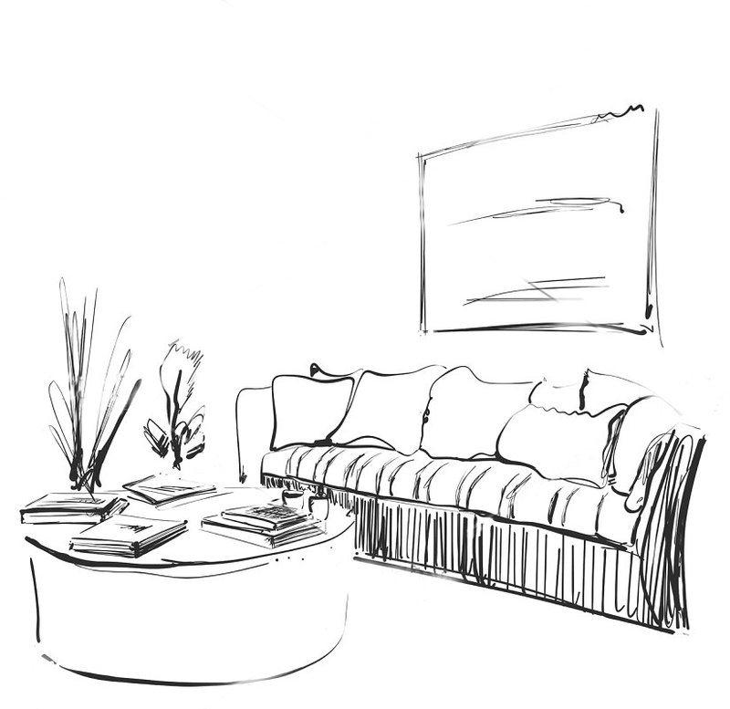 Living Room Sketch FINAL