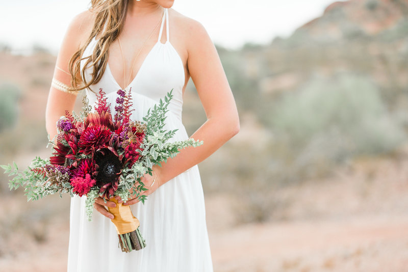 Scottsdale Arizona Wedding Photography Bohemian Bride