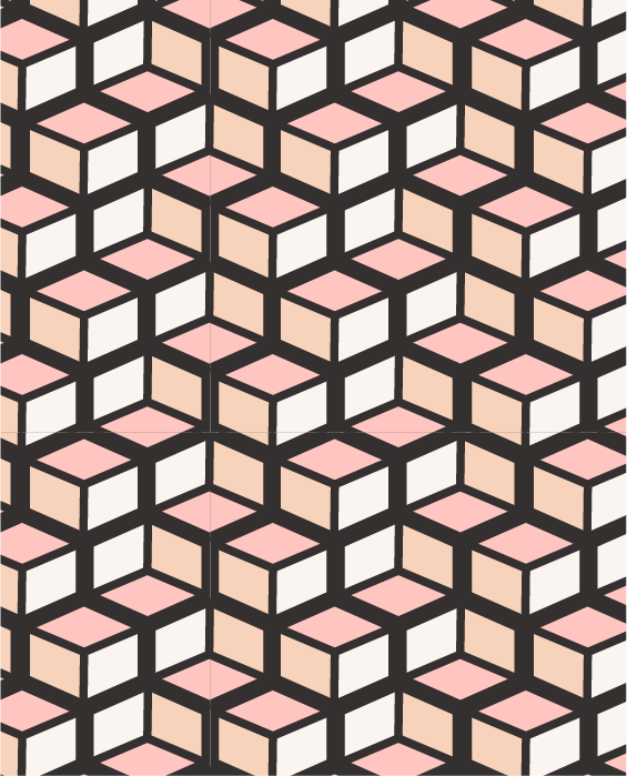 the copy atelier geometric brand pattern kindly by kelsea
