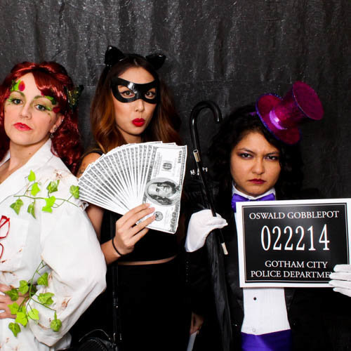 villain theme photobooth
