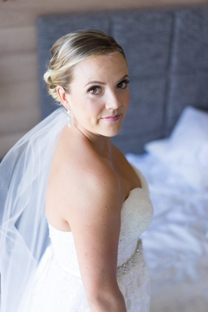 Vancouver bride portrait before she gets ready