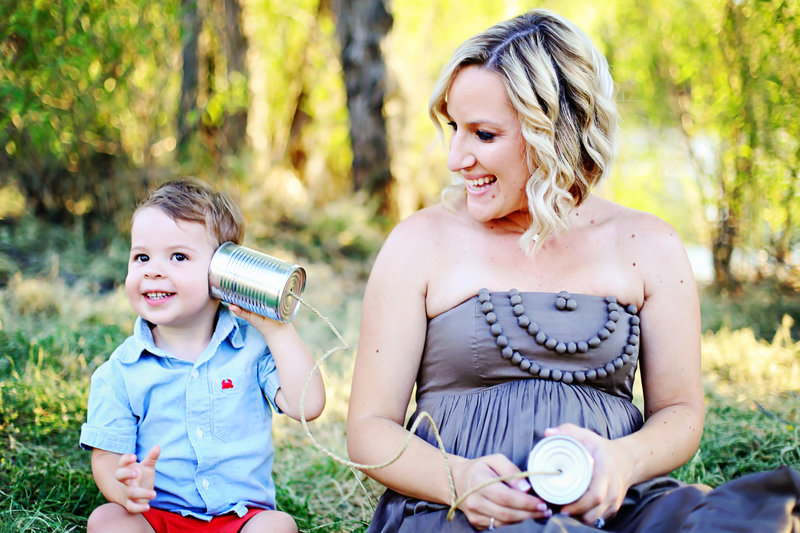 Cheerful maternity session | Colehearted Photography