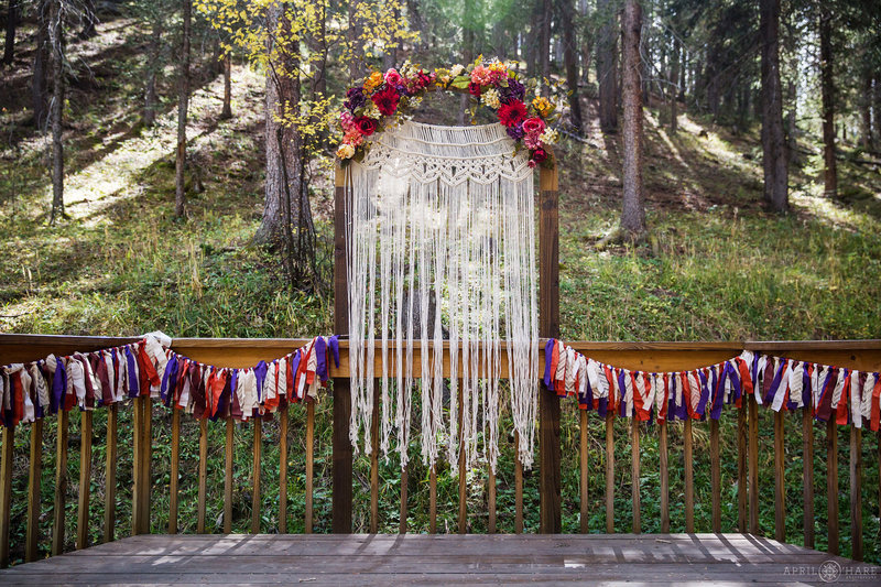 Beaver-Ranch-Wedding-Deck-in-Conifer-Colorado