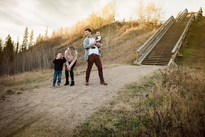 Family Photos Edmonton Casual