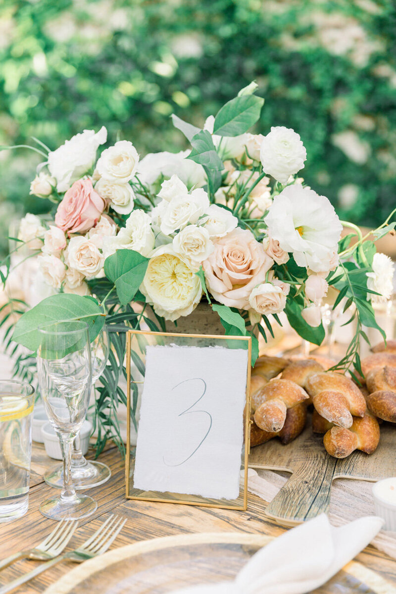 pirouettepaper.com | Wedding Stationery, Signage and Invitations | Pirouette Paper Company | Table Numbers 81