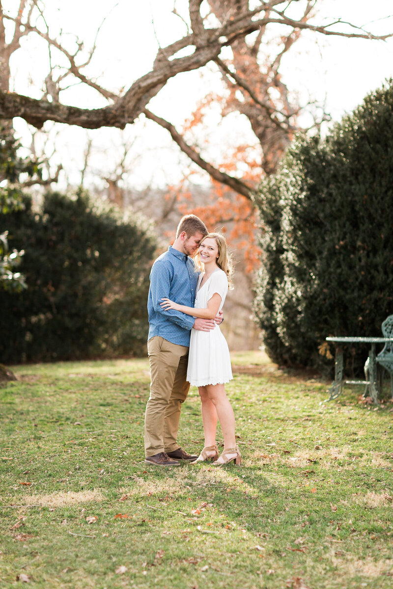 Fall Mountain Engagement Session in the Shenandoah Valley-3