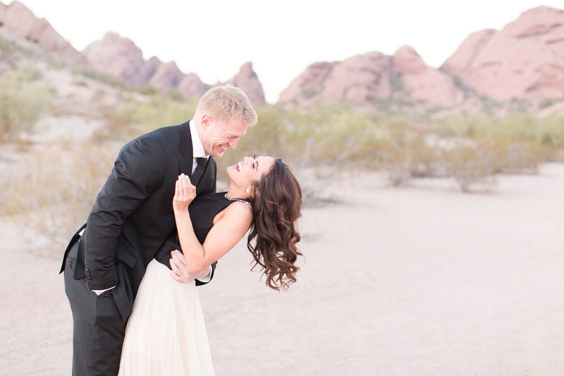 Romantic Desert Engagement Session Scottsdale, Arizona | Amy & Jordan Photography