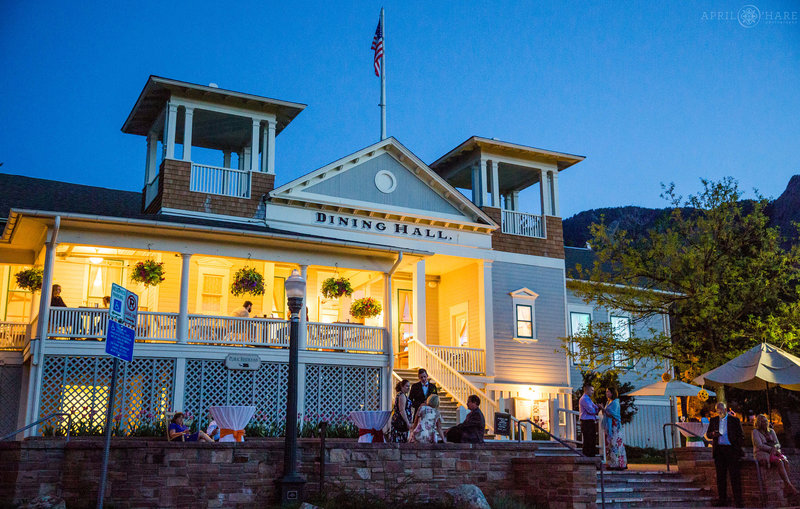 Chautauqua-Dining-Hall-at-Dusk-Wedding-Reception