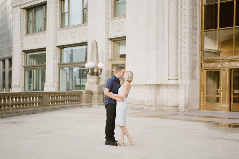 Chicago Wedding Photographer - Fine Art Film Photographer - Sarah Sunstrom - Sam + Morgan - Engagement Session - 22