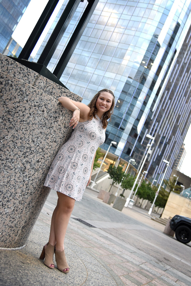 senior photography downtown dallas