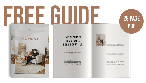 homebody value of a moment guide FREEBIE small