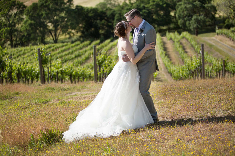 wine country wedding photography, vineyard wedding