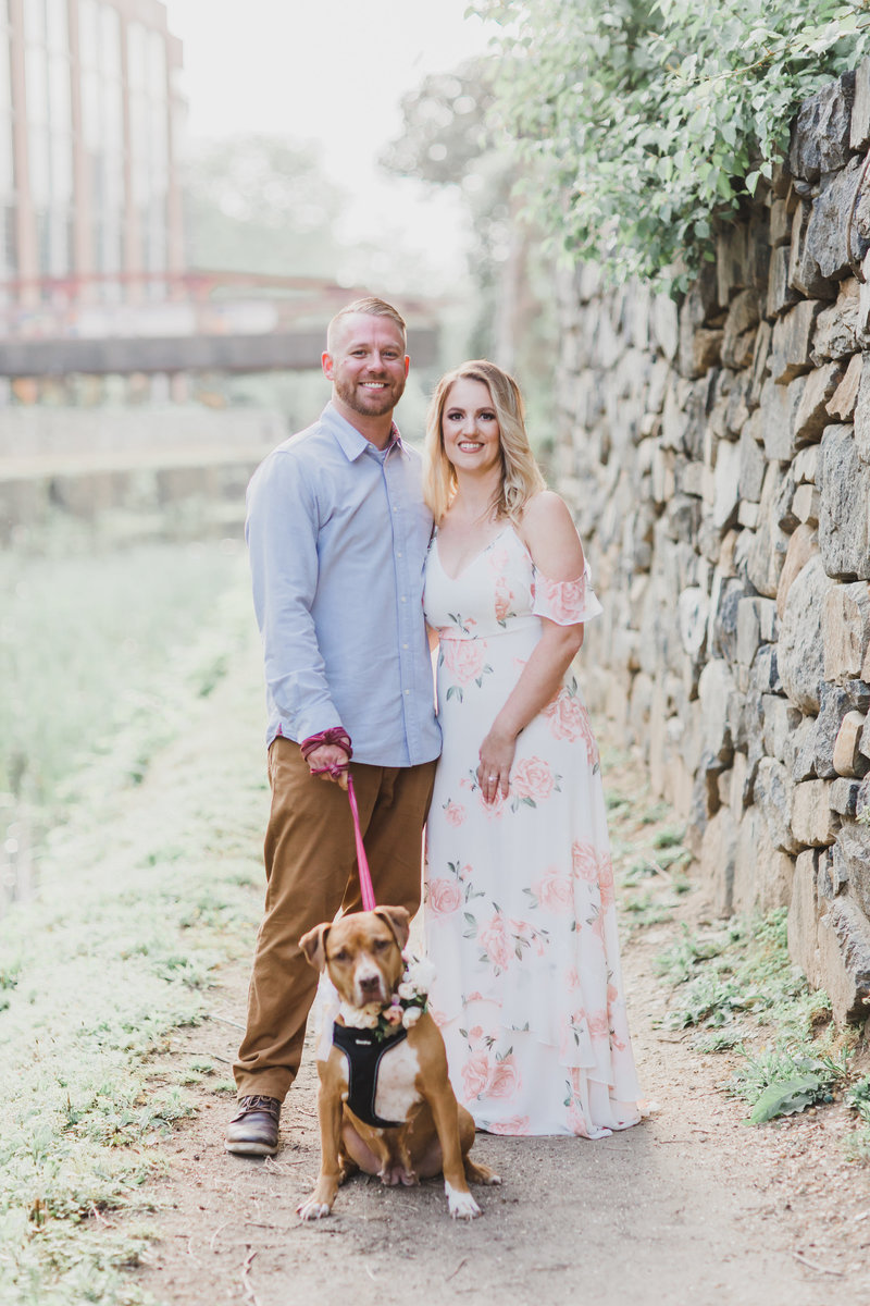 Georgetown Engagement Session - M Harris Studios-800