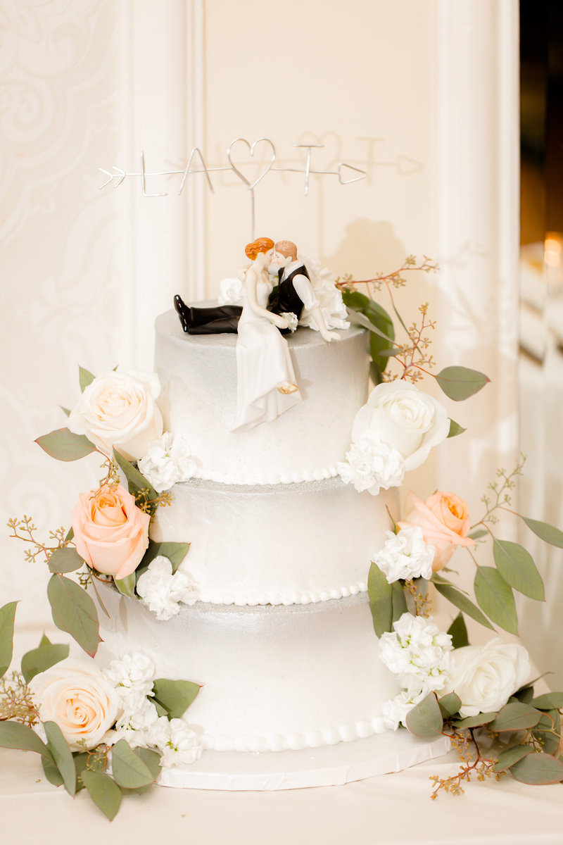 Wedding cake by Sugarush in Red Bank