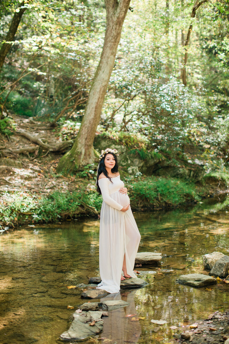 Maternity session rocks state park