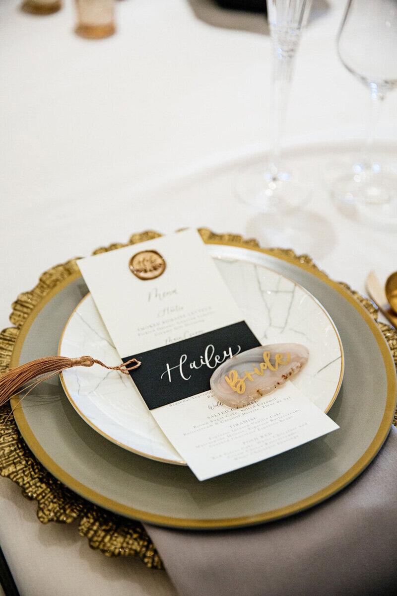pirouettepaper.com | Wedding Stationery, Signage and Invitations | Pirouette Paper Company | Place Cards 28