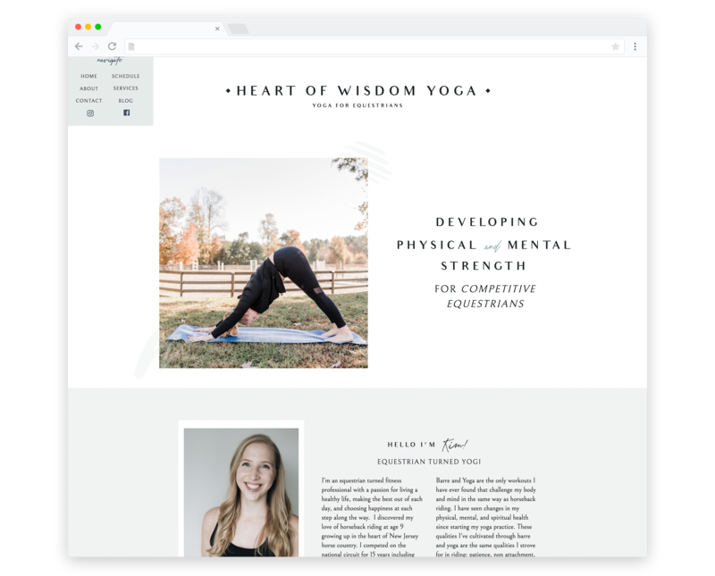 TemplateShowcase-HeartofWisdomYoga