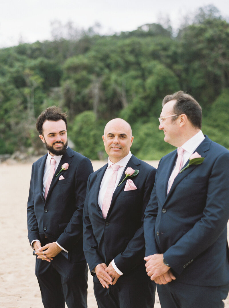 The Boathouse Shelly Beach, Manly Fine Art Film Elopement Wedding Photographer Sheri McMahon --00060