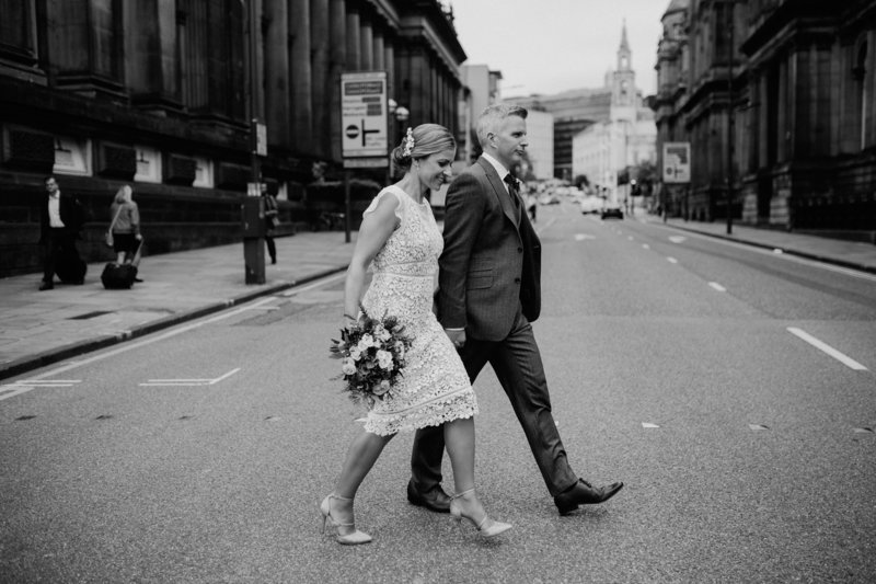 011-bride-and-groom-outside-town-hall--leeds--modern-alternative-wedding-photographer--yorkshire