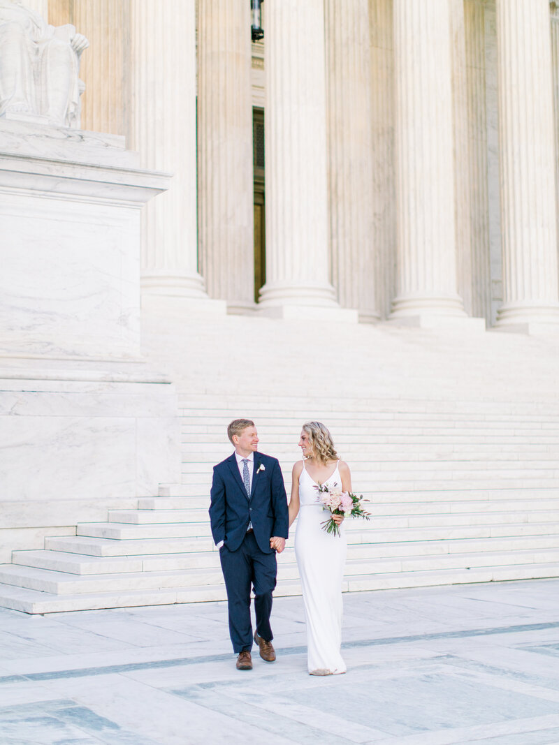 Klaire-Dixius-Photography-Washington-DC-Elopement-Capitol-Building-Supreme-Court-Brian-Kim341