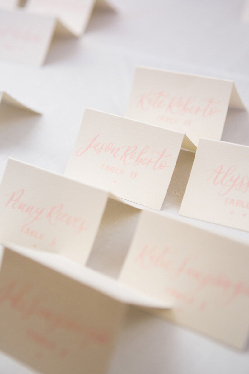 pirouettepaper.com | Wedding Stationery, Signage and Invitations | Pirouette Paper Company | Escort Cards 80