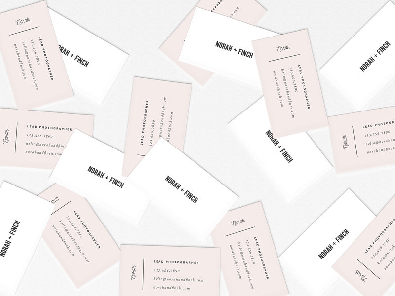 Disordered-Business-Cards-Mockup