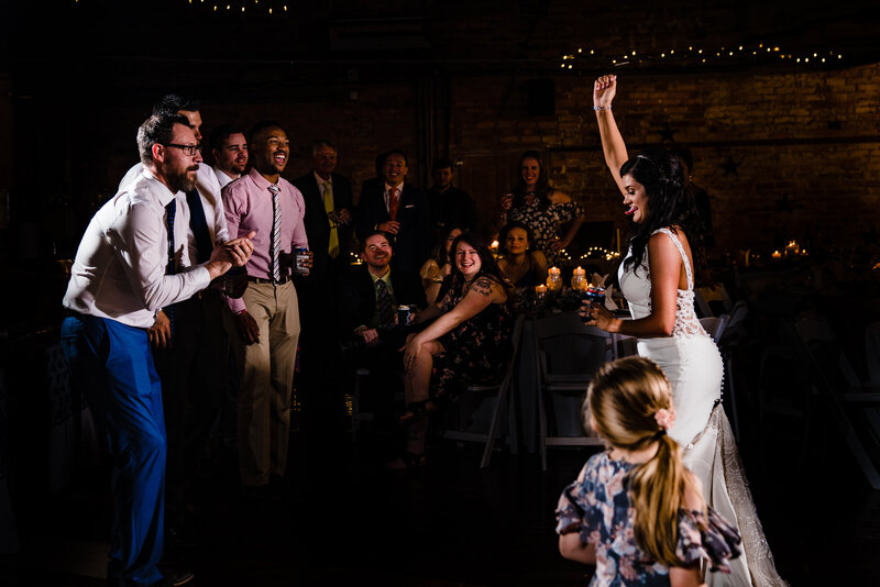 Bride_Dancing_Wild_Greenville_Wedding_Photographers