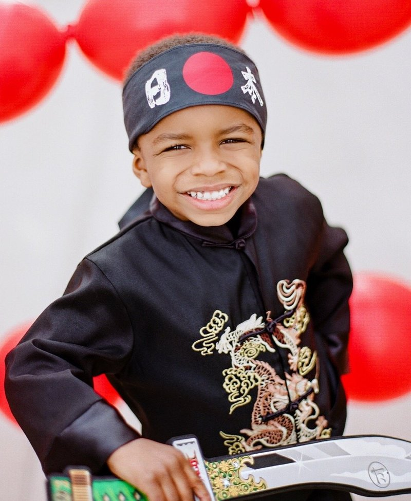 Finnley Kubo Ninja 5th Birthday Party - 5