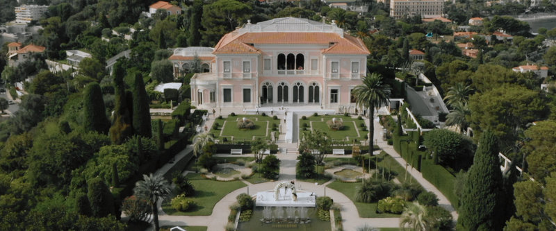 a south of france wedding videograoher. Villa ephrussi rothschild.