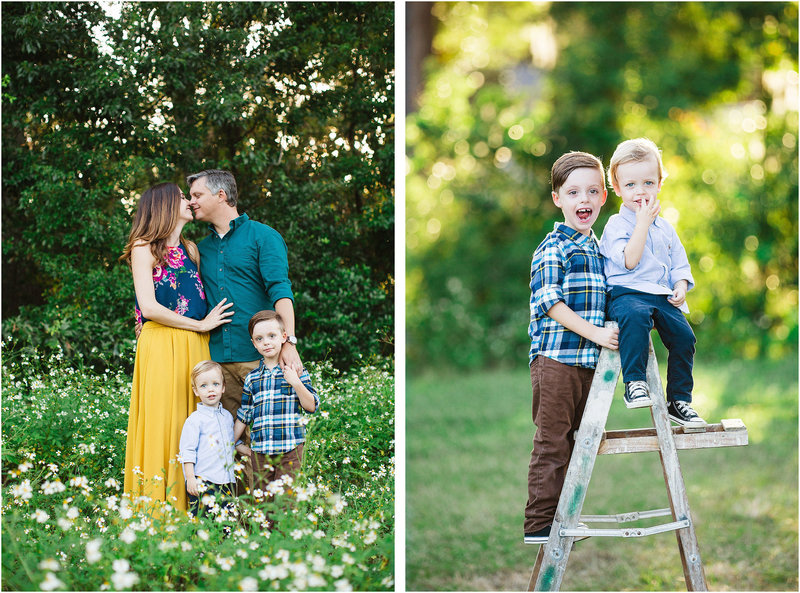 dairy farm savannah family session