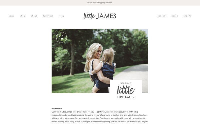 Handcrafting Heartfelt Brand & Website Designs for Female Creatives |  Showit | Showit Templates | by Viva la Violet | Little James
