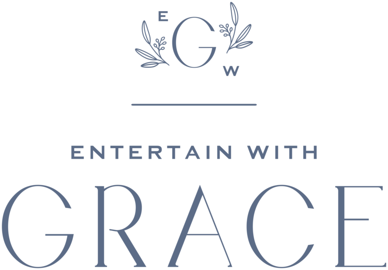 Entertain with Grace - Custom Brand and Showit Web Design by With Grace and Gold - 3