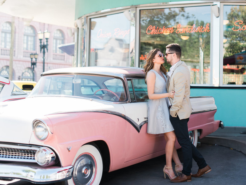 Islands of Adventure Orlando Florida Engagement Photography