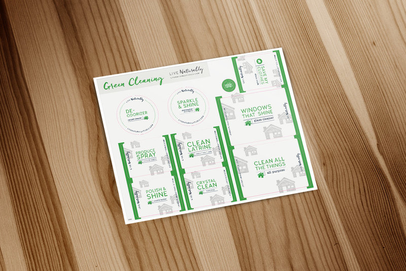 Green Cleaning Labels v2