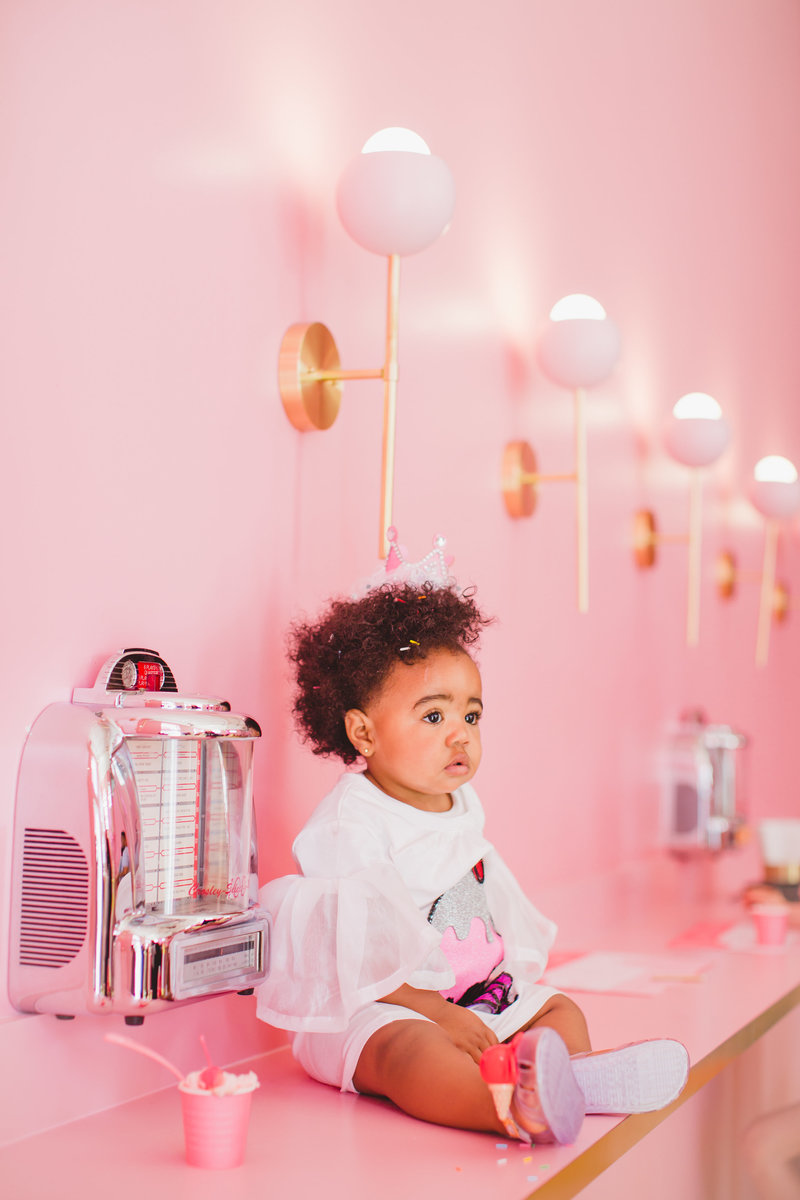 Miami Kids Lifestyle First Birthday Photography session