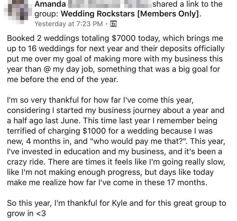 Book More Weddings Kyle Goldie Review AF 4