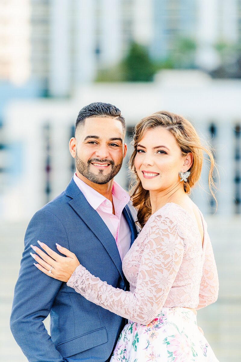 Engagement Photographer | Downtown Orlando Engagement -30