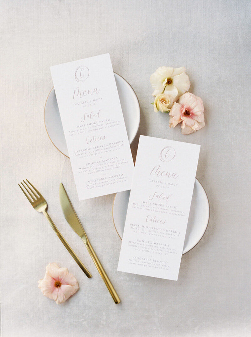 pirouettepaper.com | Wedding Stationery, Signage and Invitations | Pirouette Paper Company | Menus + Programs 37