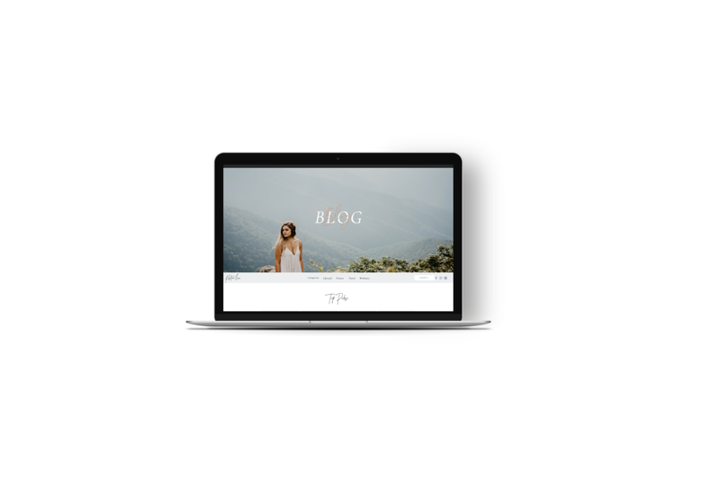 Showit Blog Template - Blog Website Template - Wordpress Blog Template