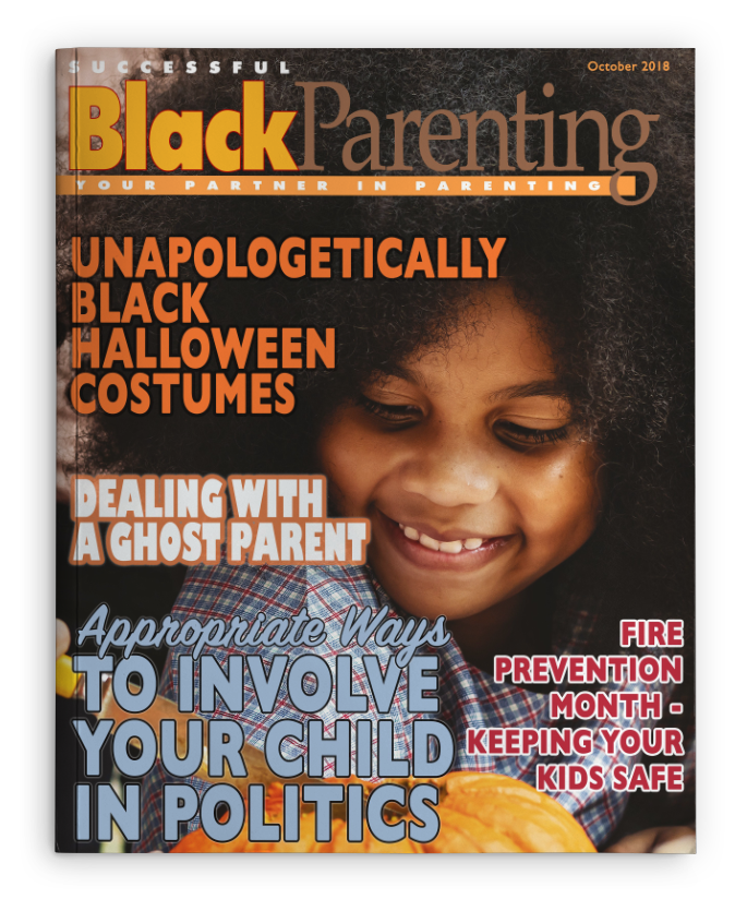 Successful Black Parenting - October 2018 Magazine Cover