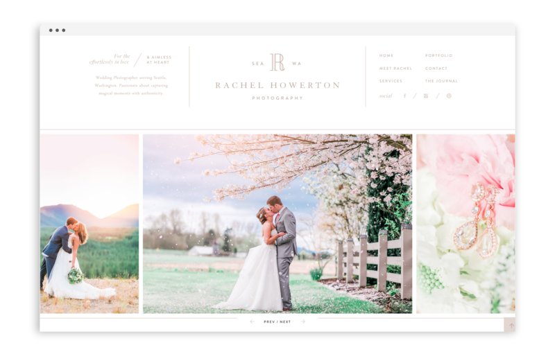 Rachel Howerton Photography - Logo Design, Stationery Design, and Web Design - Photo - 2