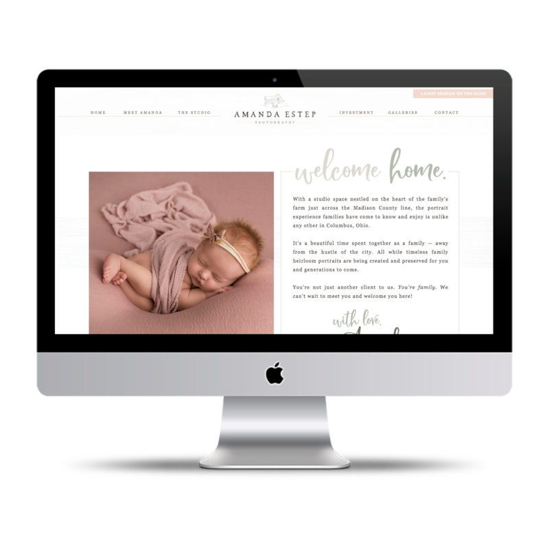 Amanda Estep Website Design SEO