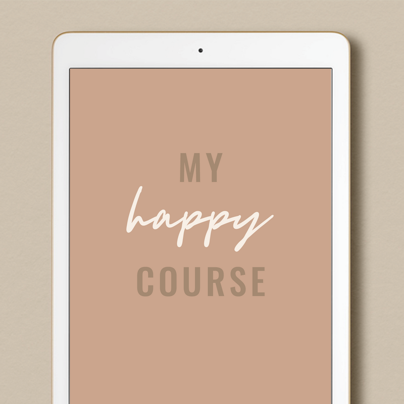 My Happy Course - Cover Mock Up
