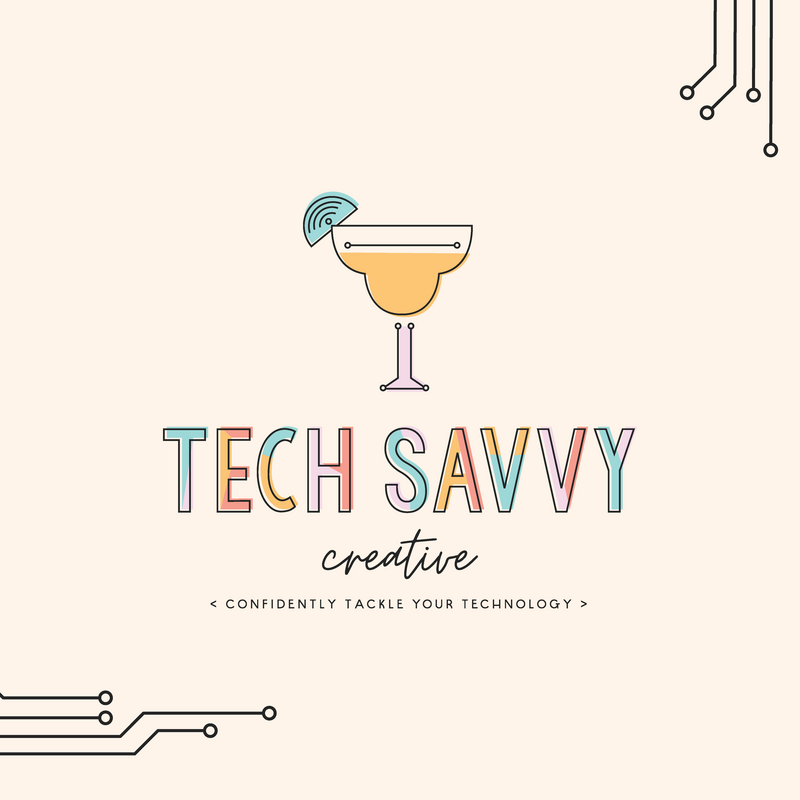 Tech Savvy Creative Colorful Modern Brand and Logo Design