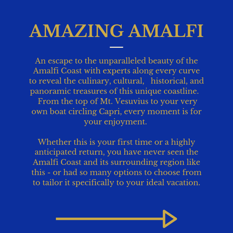 Amazing Amalfi P1 Intro