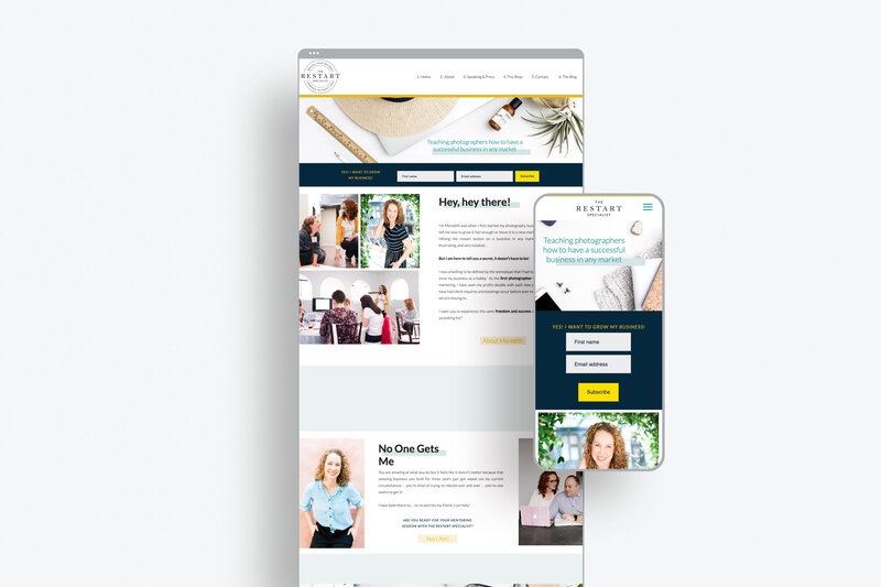 showit website template