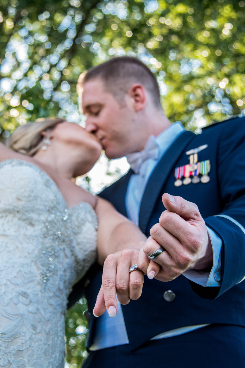 Indianapolis Wedding Photographer at a Beautiful Military Wedding