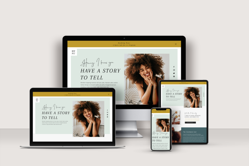 Showit Website Templates for Virtual Assistants and Social Media Managers