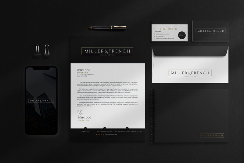 Lawyer Branding Website Design Walcot Studio