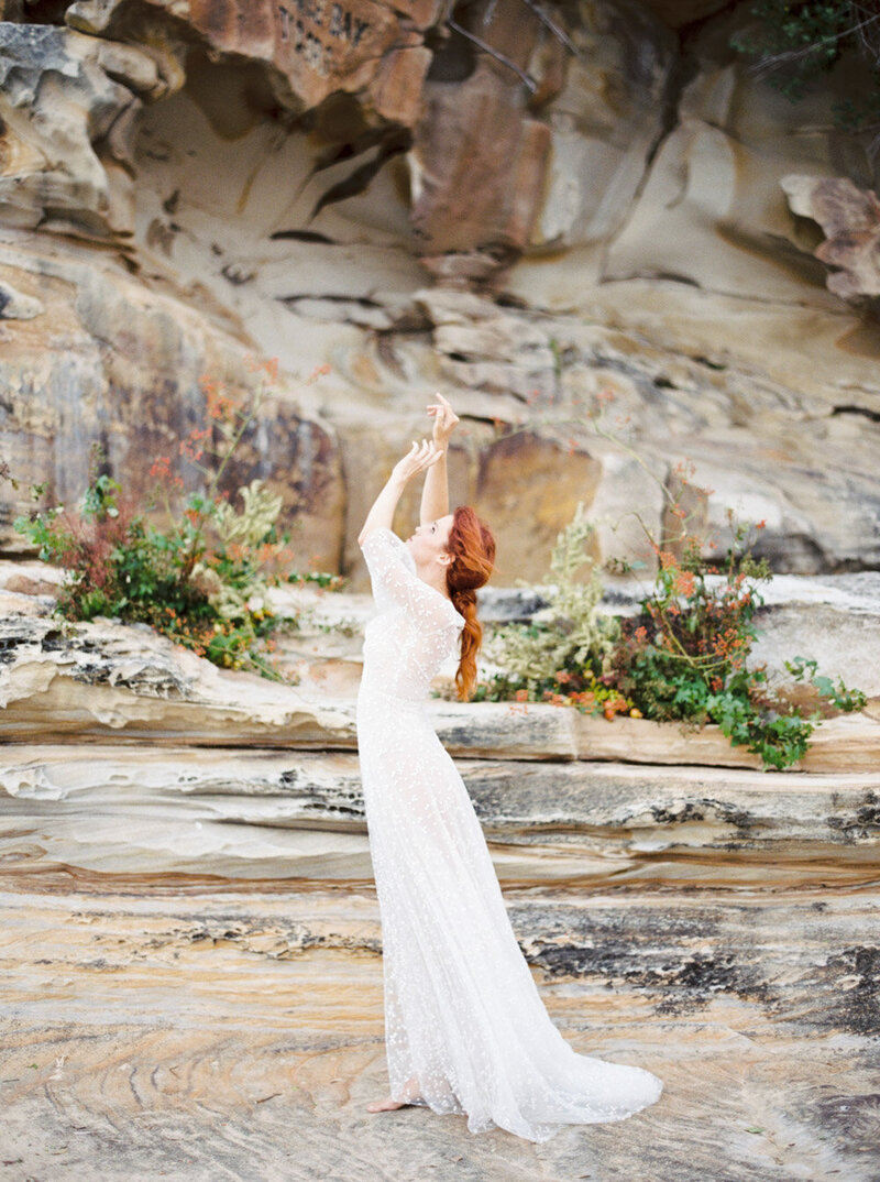Sydney Fine Art Film Wedding Photographer Sheri McMahon - Sydney NSW Australia Beach Wedding Inspiration-00029